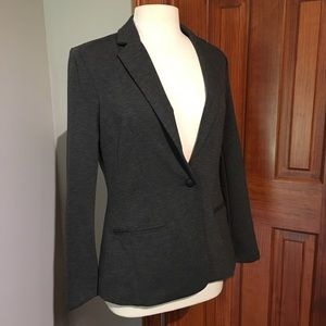 NWOT Grey stretchy blazer